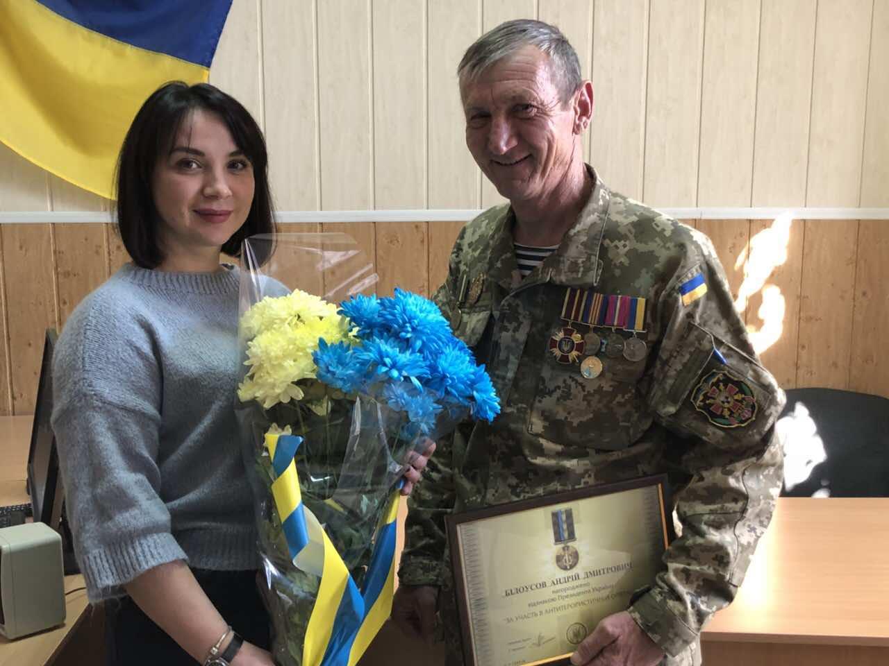 Водія Голопристанського районного суду нагороджено відзнакою Президента України